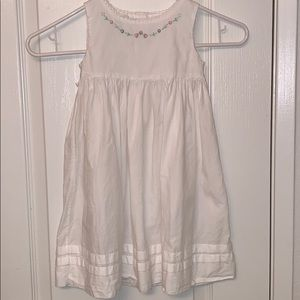 Toddler white dress size 2